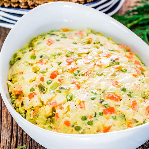 Salata de boeuf fara carne, pentru vegetarieni sau cei care tin post!