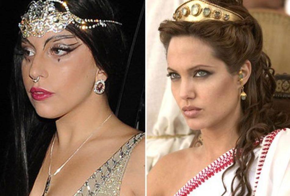 Angelina Jolie si Lady Gaga au devenit rivale