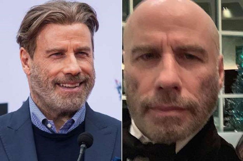 Asa arata John Travolta fara peruca