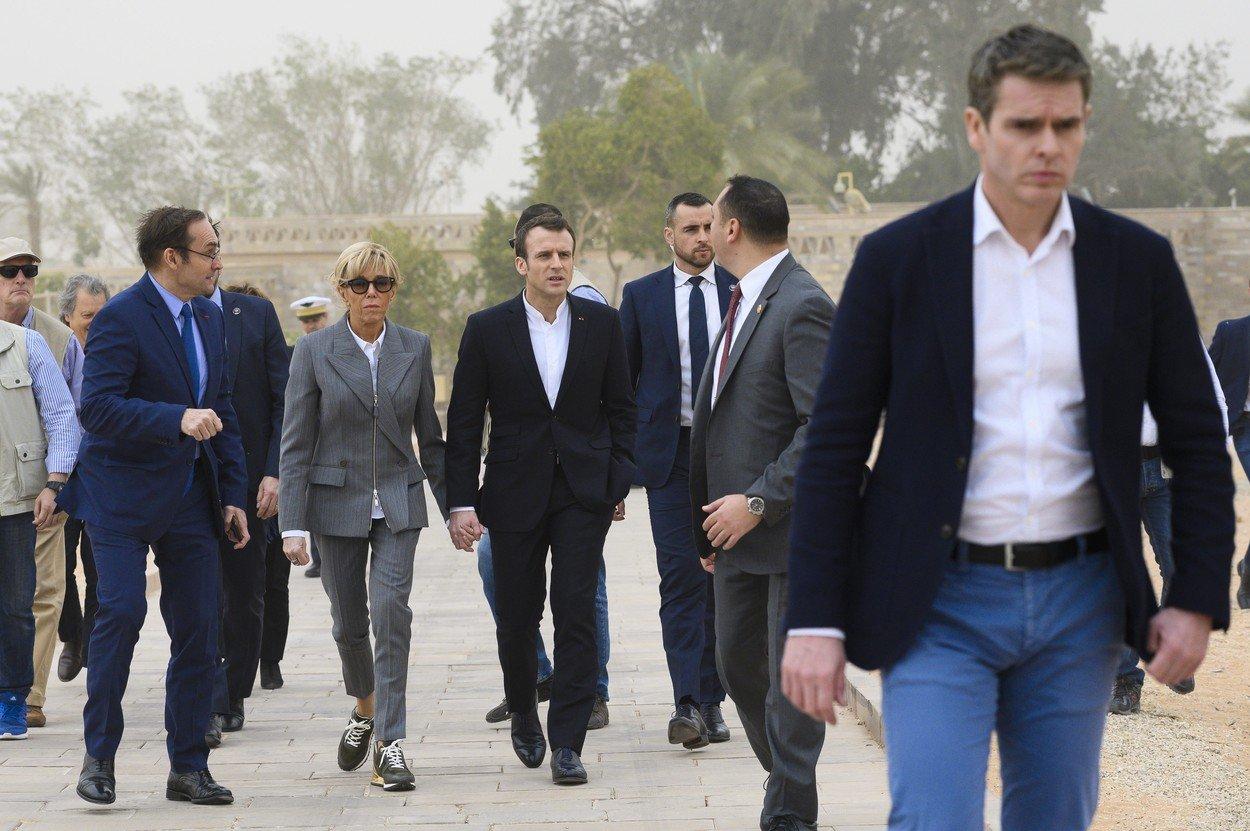 Brigitte Macron, aparitie SOCANTA la 65 de ani