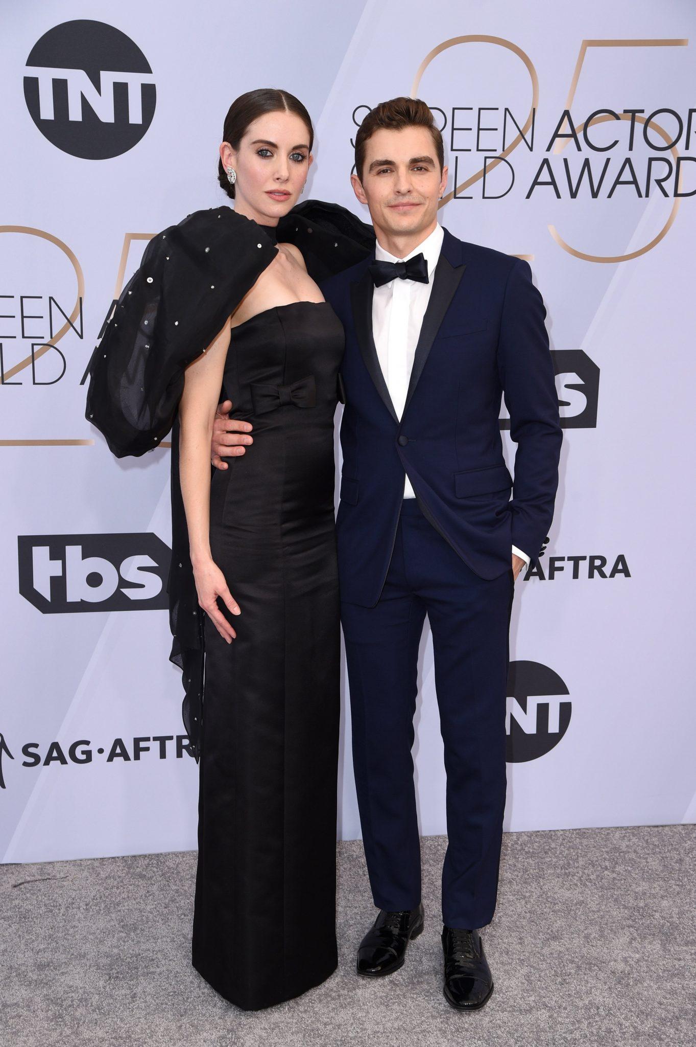 cupluri premiile sag 2019 Alison Brie si Dave Franco