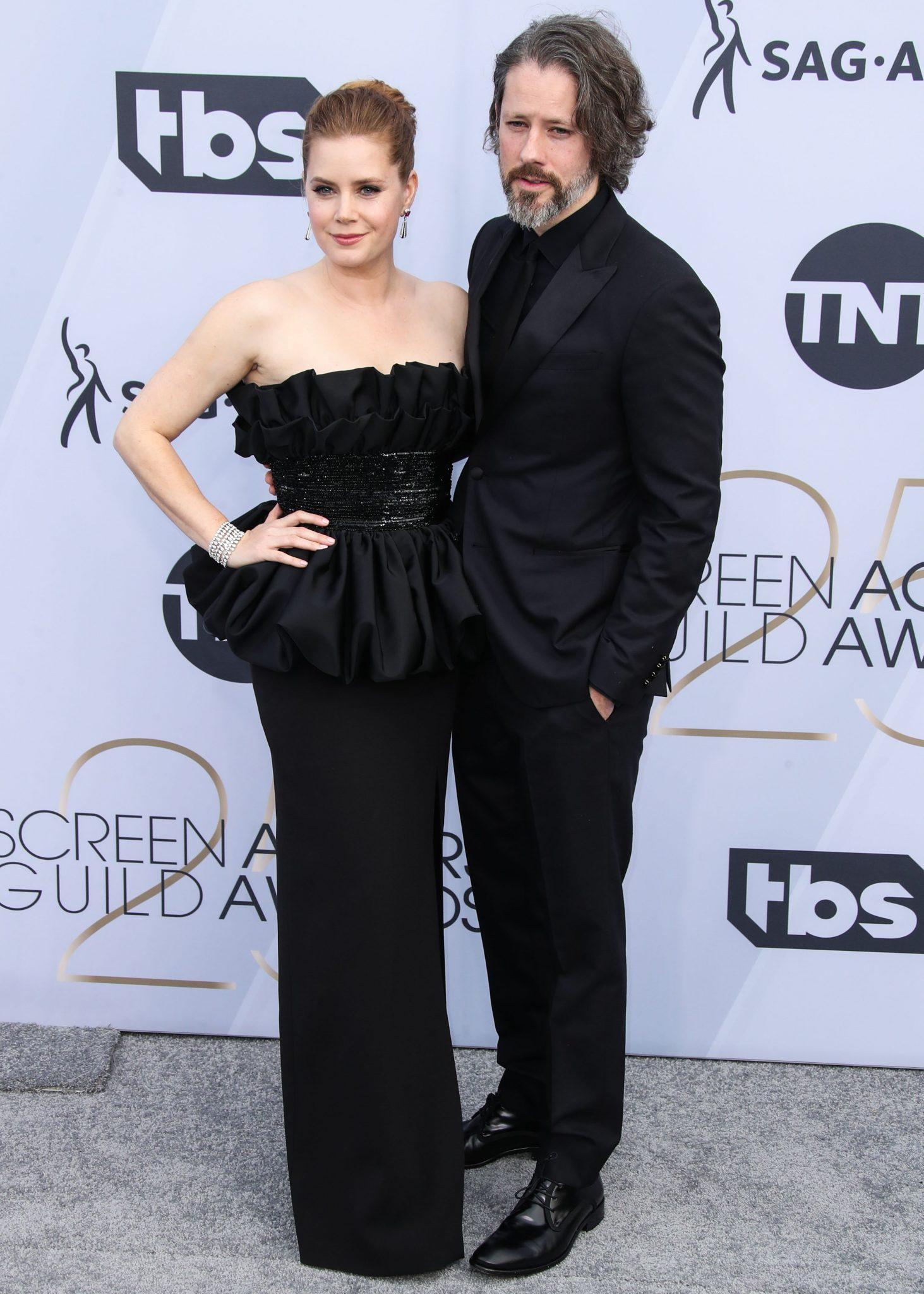 cupluri premiile sag 2019 Amy Adams si Darren Le Gallo