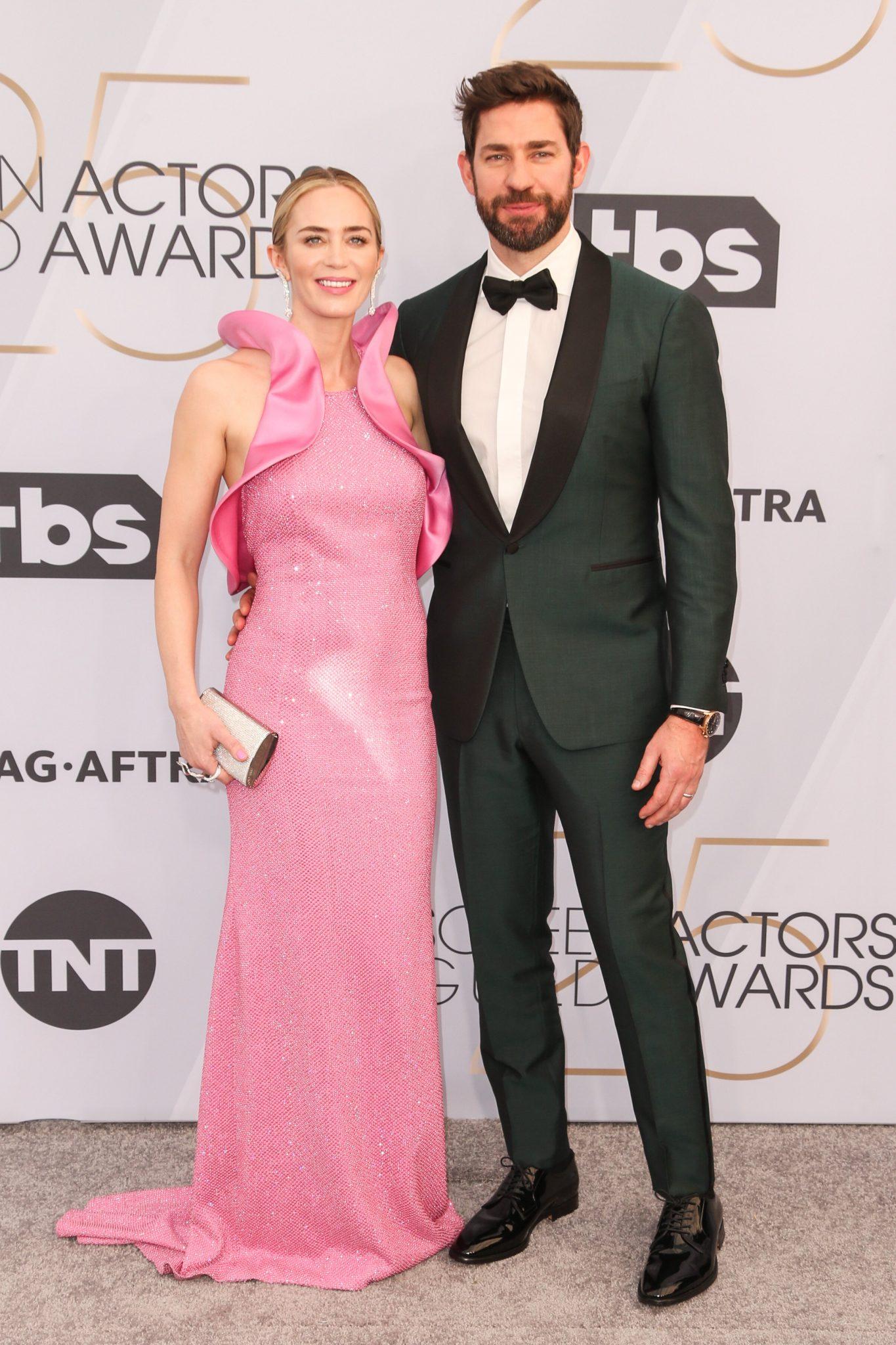 cupluri premiile sag 2019 Emily Blunt si John Krasinski