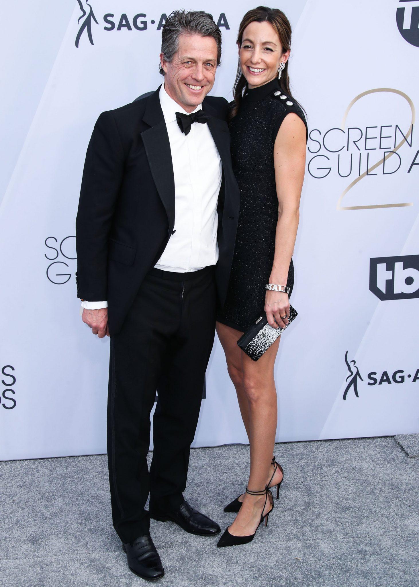 cupluri premiile sag 2019 Hugh Grant si Anna Eberstein