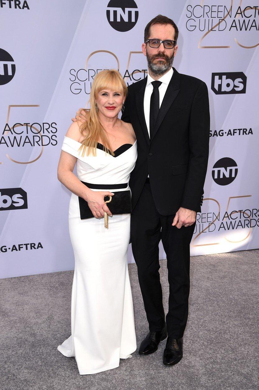cupluri premiile sag 2019 Patricia Arquette si Eric White