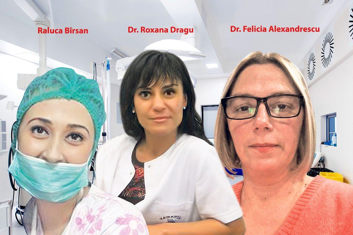 Ce facea Raluca Barsan, medicul FALS din Ilfov, in sala de operatii