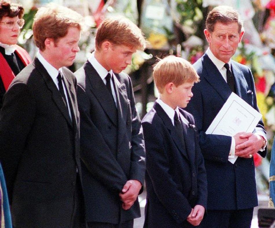 Ce nu a fost lasat sa faca Printul Harry la moartea Printesei Dianei