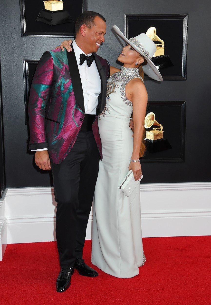 Alex Rodriguez si Jennifer Lopez