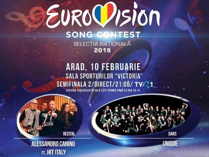 Eurovision Romania 2019. Care sunt concurentii din cea de-a doua semifinala