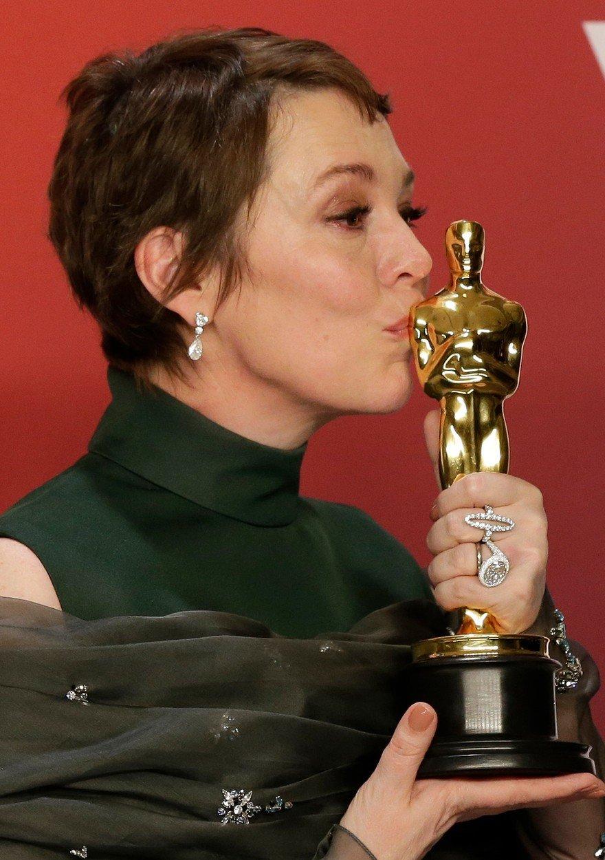 Premiile Oscar 2019. Olivia Colman, cea mai buna actrita