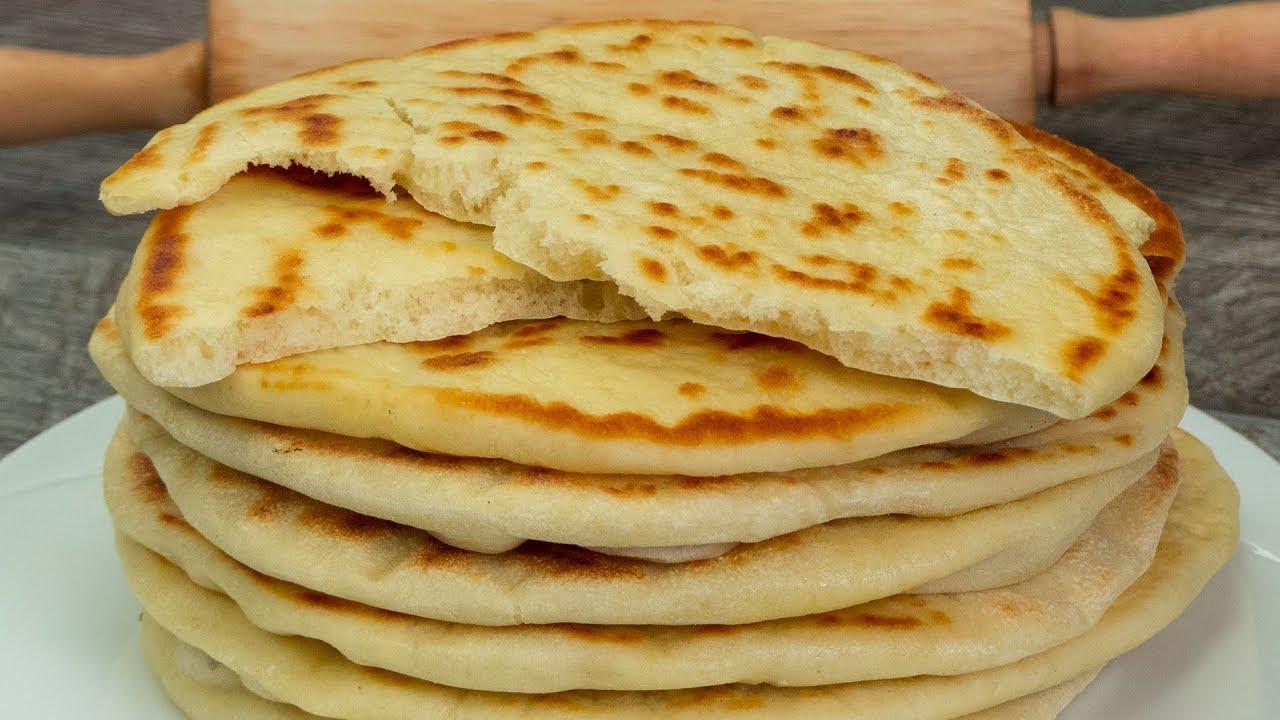 Reteta de paine naan