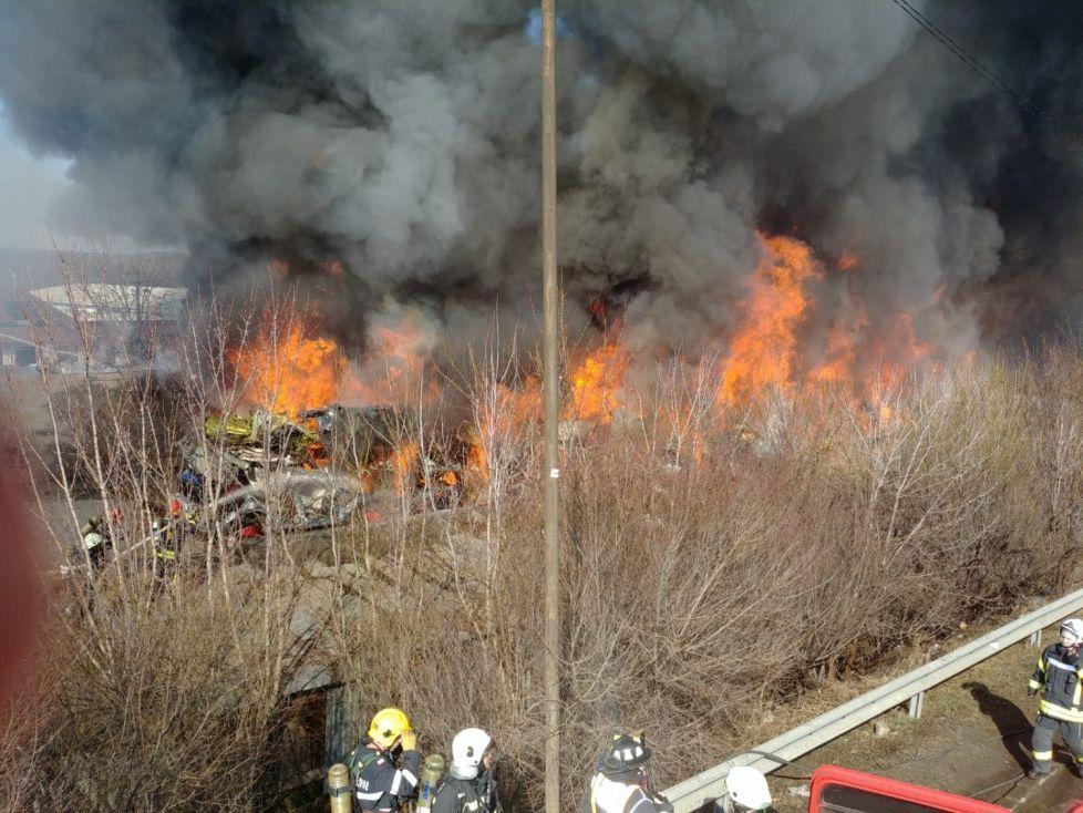 Ro-Alert, mesaj dupa incendiul din Afumati