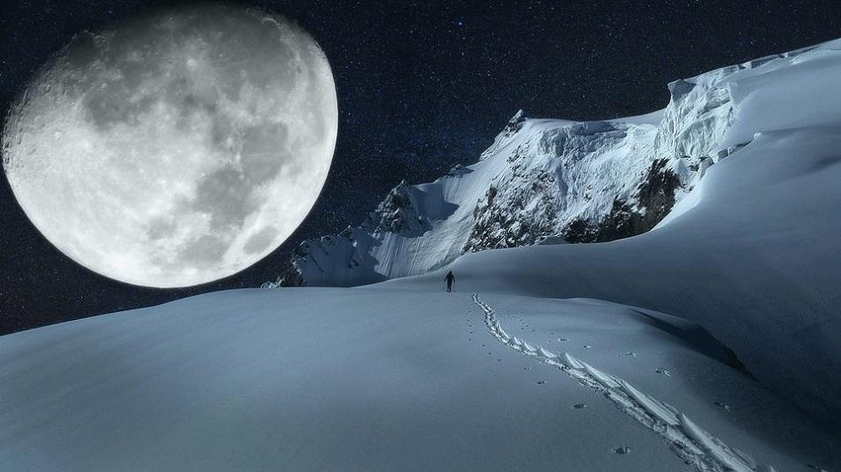 Superluna de zapada