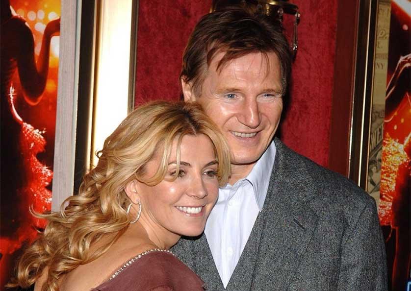 Actorul Liam Neeson si-a deconectat sotia de la aparate