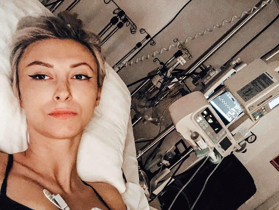 Andreea Balan, pe patul de spital! Vedeta e trista si indura dureri cumplite