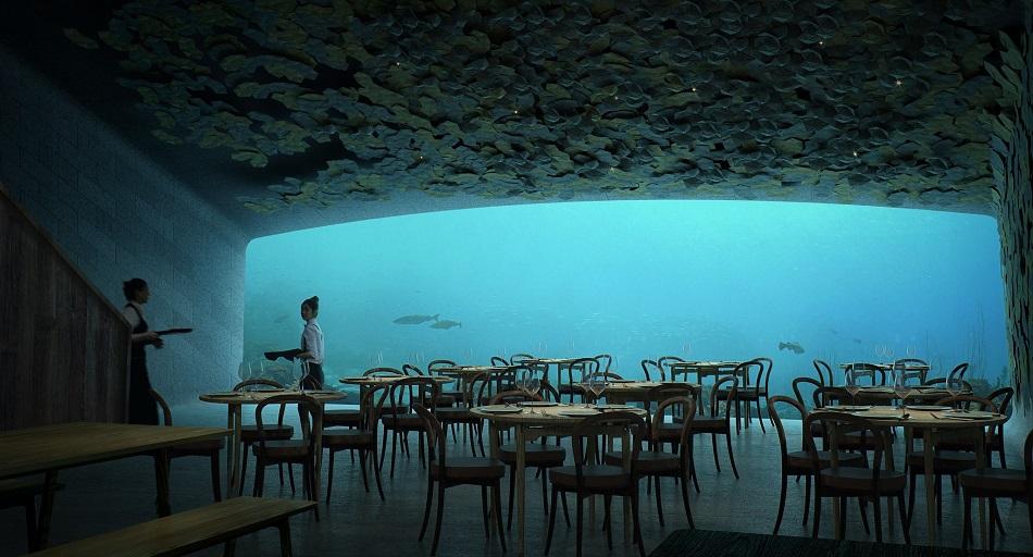 Asa arata primul restaurant subacvatic din Europa