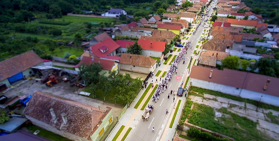 Cea mai bogata comuna din Romania, Ciugud, are zero prejudicii