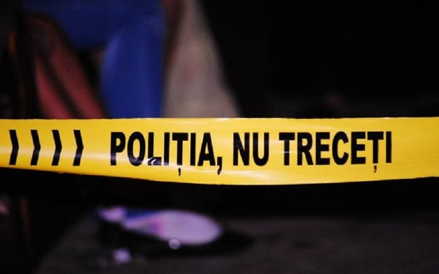 O fetita a fost injunghiata in gat