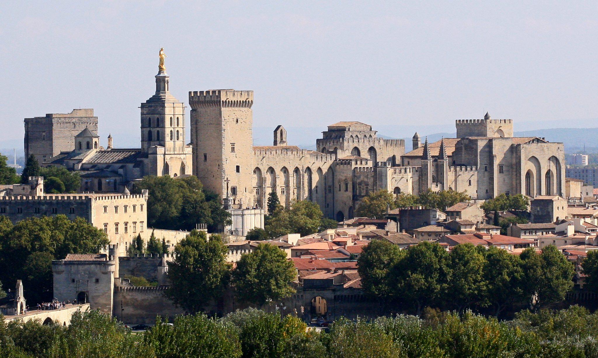Vacanta in Franta 2019 Palatul Papilor din Avignon