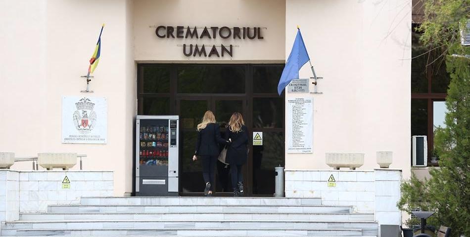 Zina Dumitrescu, incinerata. Vezi primele imagini de la Crematoriu