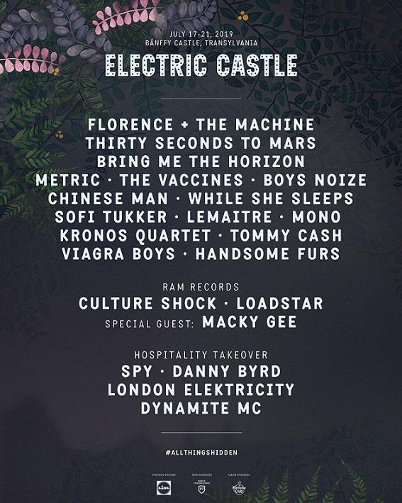 Electric Castle 2019. Trupa Limp Bizkit vine la Bontida