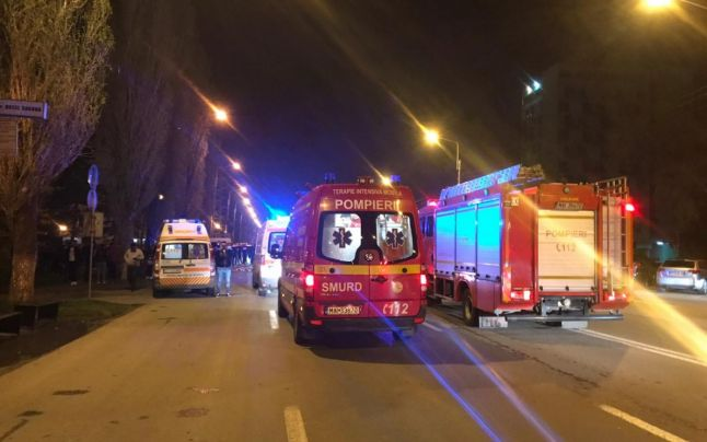 Accident rutier cu 4 victime, azi-noapte in Mamaia