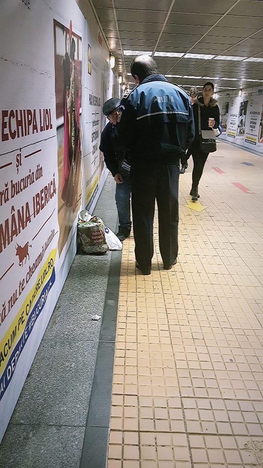 Caz socant la metrou in Bucuresti