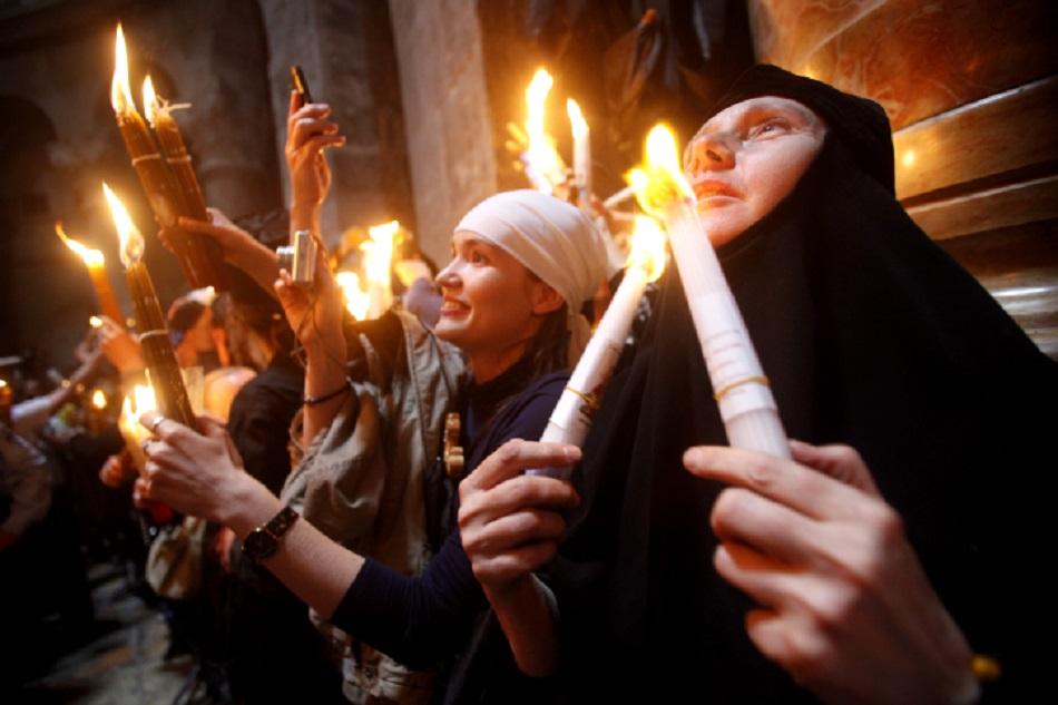 Ce nu stiai despre Lumina Sfanta de la Ierusalim