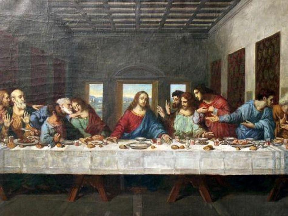 Cina cea de Taina. Ce a mancat Iisus alaturi de apostolii sai