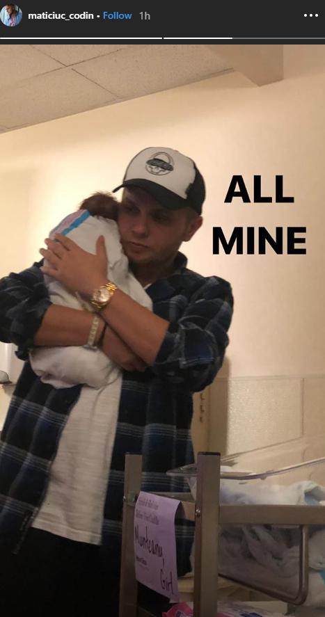 Codin Maticiuc a devenit tata