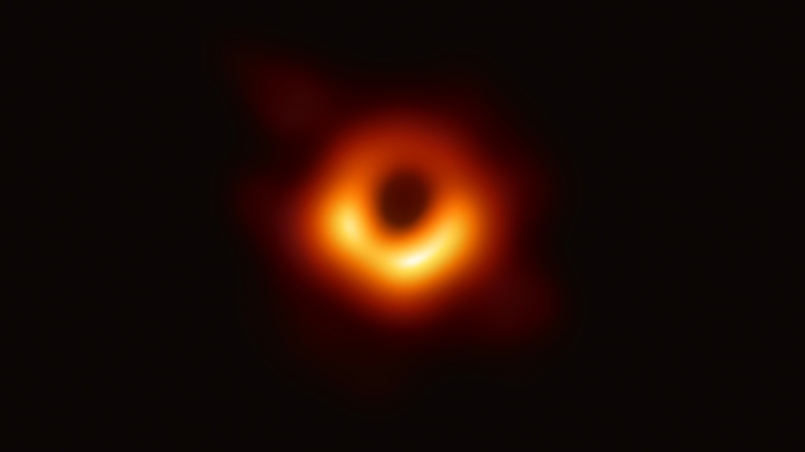 Cum arata o gaura neagra. Prima imagine a unei gauri negre, publicata de astronomi