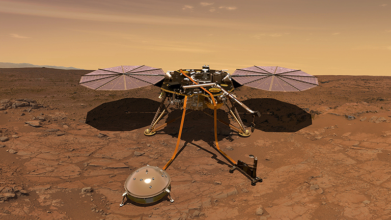 Cutremur pe Marte Ce a detectat sonda spatiala InSight. E o premiera!