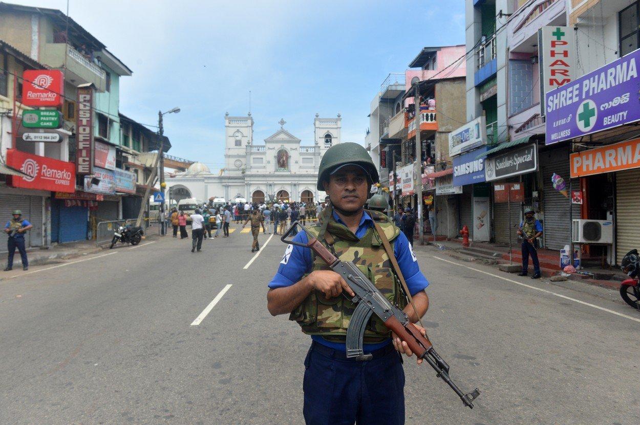 Explozii la biserici, de Pastele catolic! Credinciosii din Sri Lanka au ajuns la spital