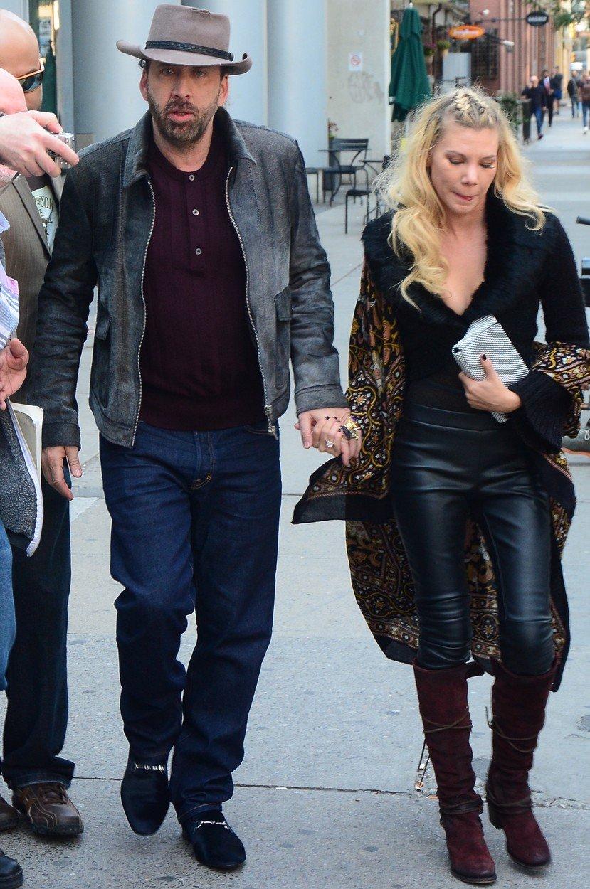 Fosta sotie a lui Nicholas Cage vrea pensie alimentara. Cei doi au divortat la 4 zile de la nunta