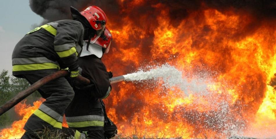 Incendiu devastator in Cernavoda