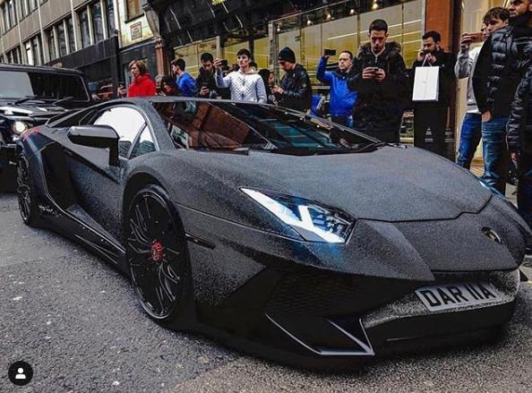 Lamborghini Aventador tunat cu 2 milioane de cristale Swarovski