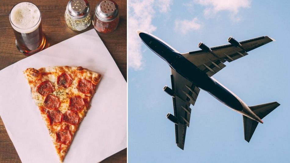Locuitorii bogati din Nigeria isi comanda pizza cu avionul