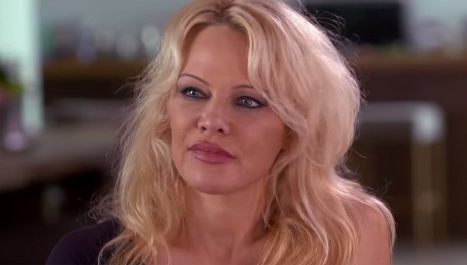 Pamela Anderson si Julian Assange