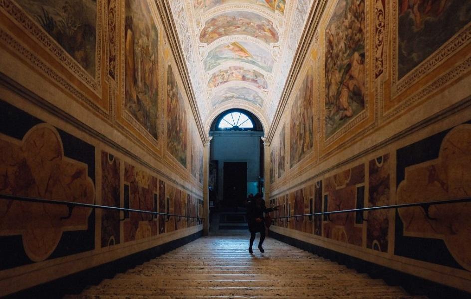 Scara pe care Iisus a urcat in Ierusalim se afla la Roma