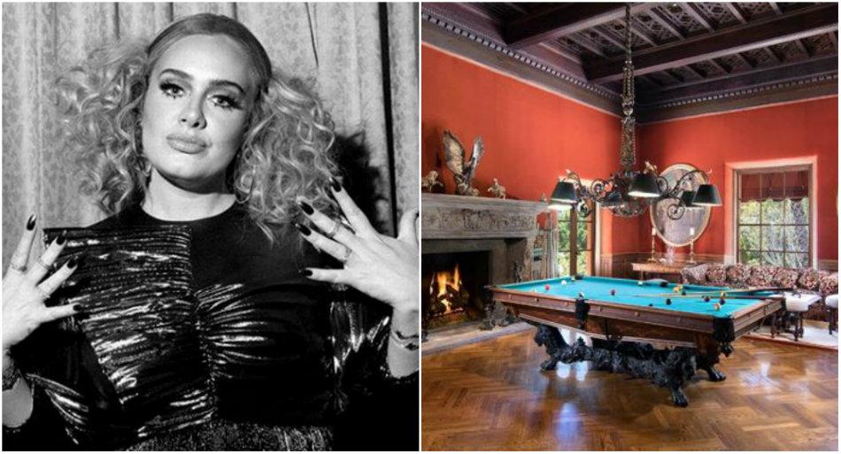 Adele a implinit 31 de ani si a inchiriat vila din filmul 'Nasul'