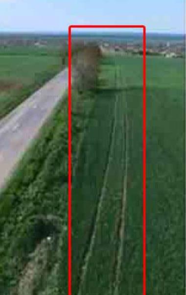 O filmare cu drona a dezvaluit traseul lui Razvan Ciobanu