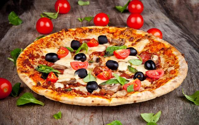 Reteta pizza vegetariana