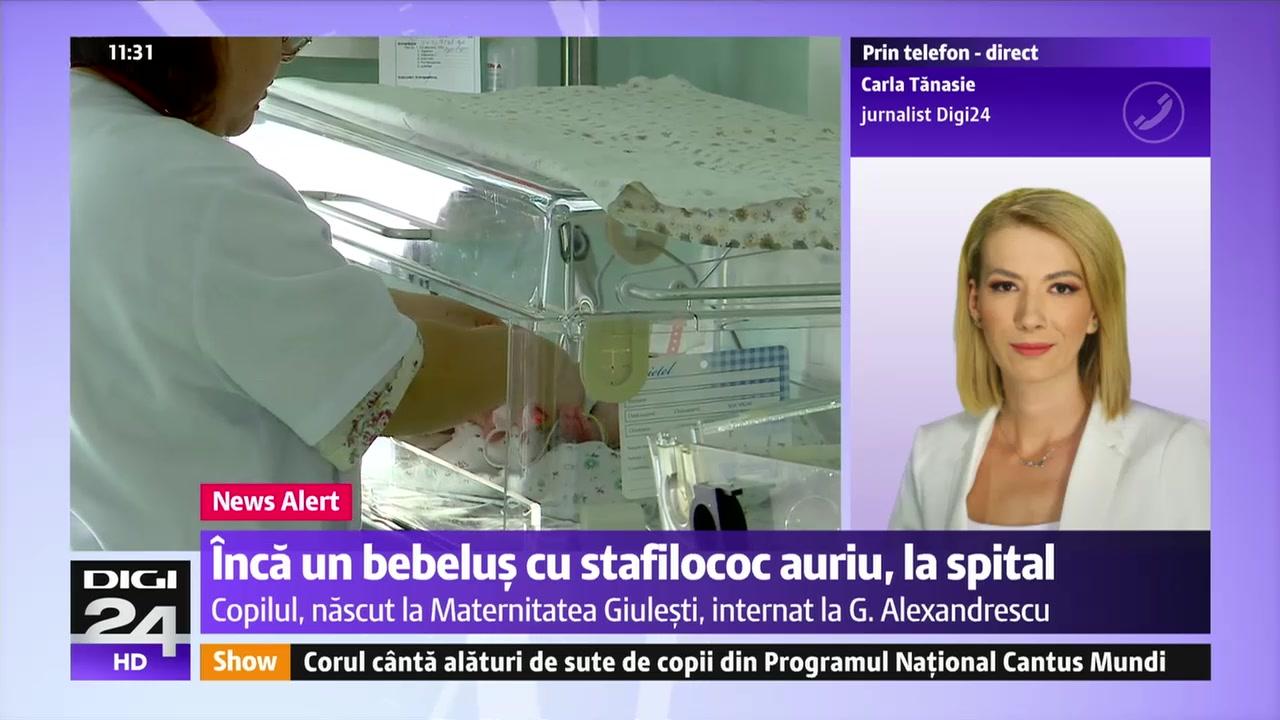 """Stafilococ la Spitalul """"G. Alexandrescu"""". Cati copii au fost afectati Doamne, ce se intampla cu spitalele noastre"""