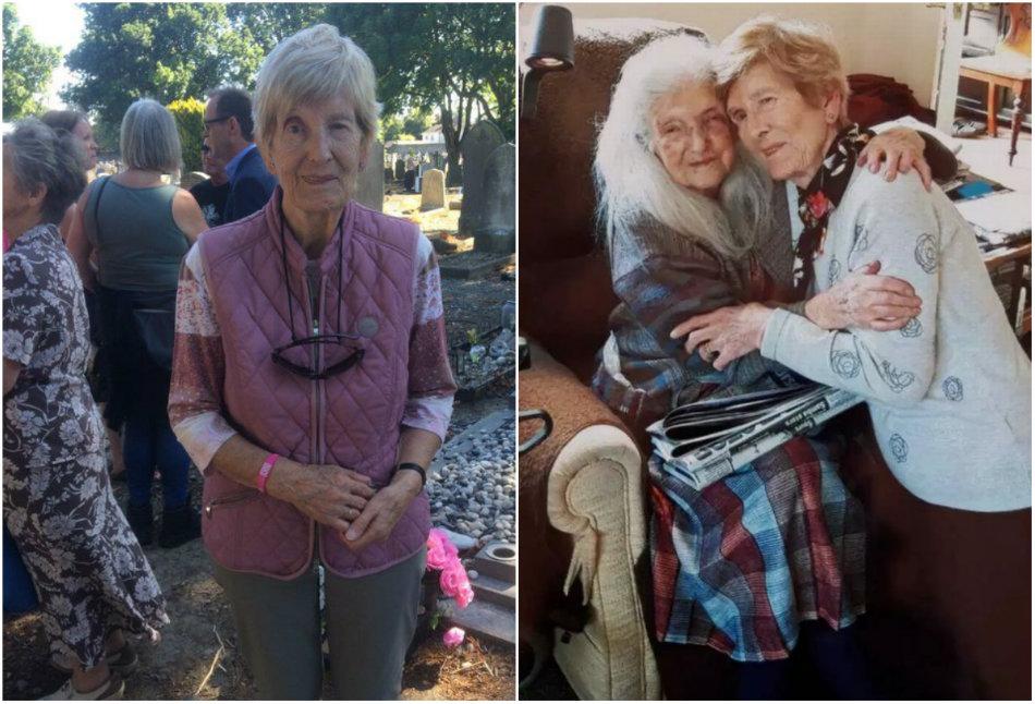 Si-a cunoscut mama biologica la 81 de ani