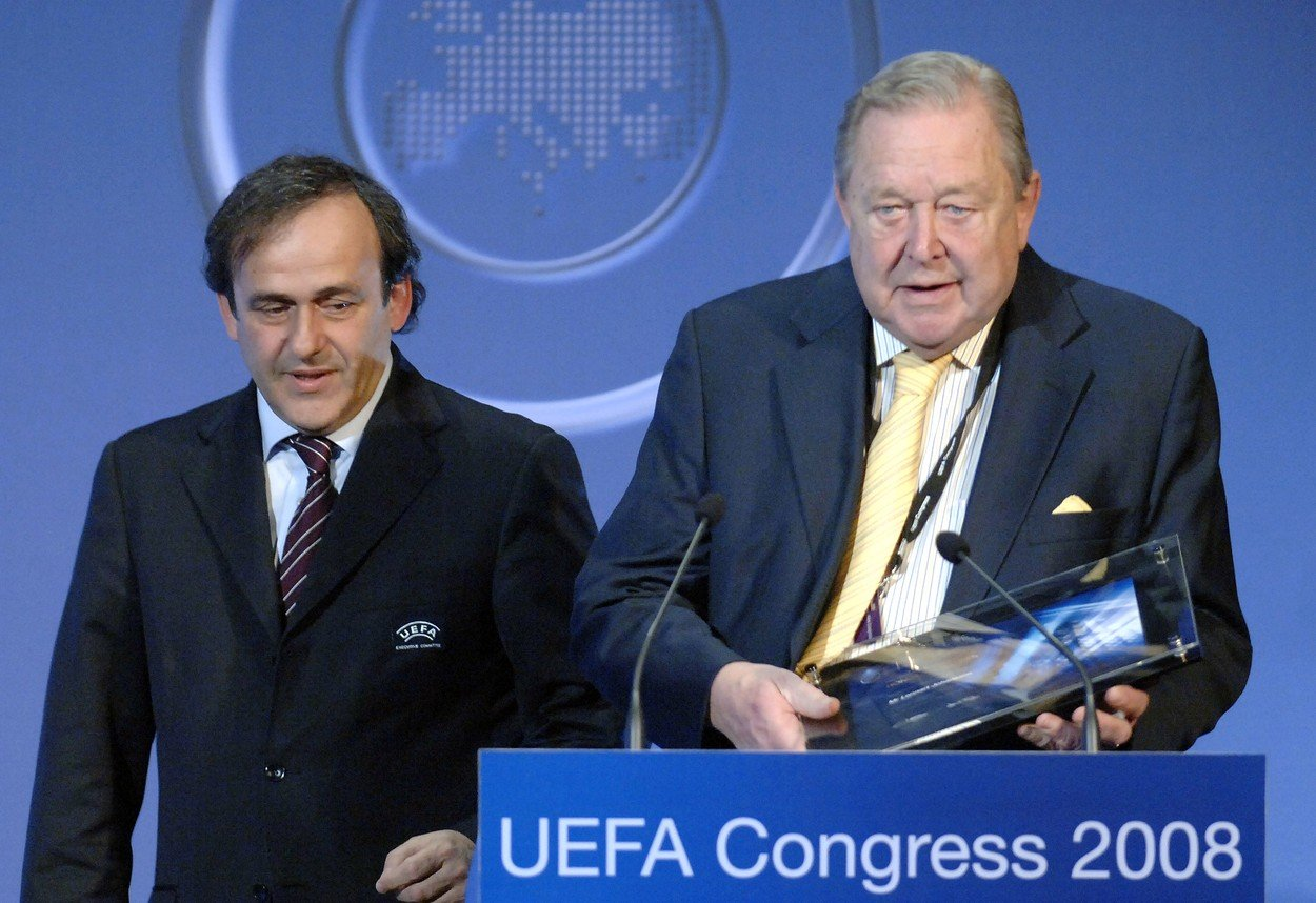 A murit Lennart Johansson, fondatorul UEFA Champions League
