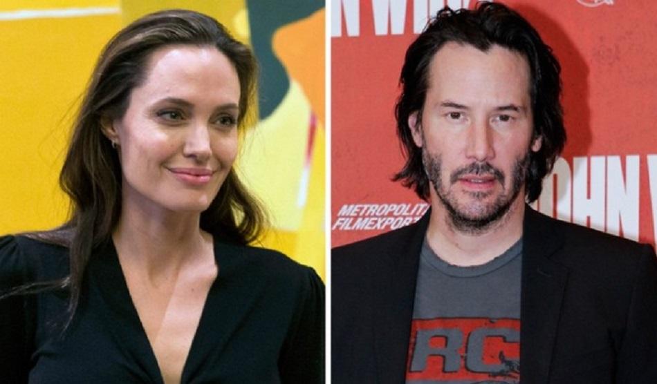 Angelina Jolie si Keanu Reeves sunt impreuna