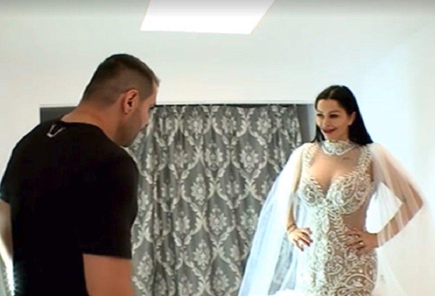 Brigitte Sfat s-a certat cu Pastrama din cauza rochiei de mireasa!