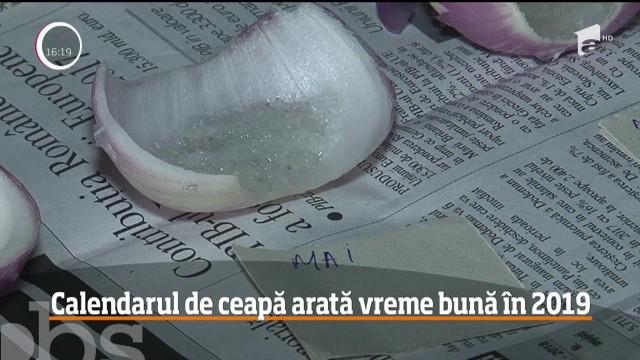Calendarul de ceapa, cea mai folosita superstitie din Romania. Cum functioneaza VIDEO