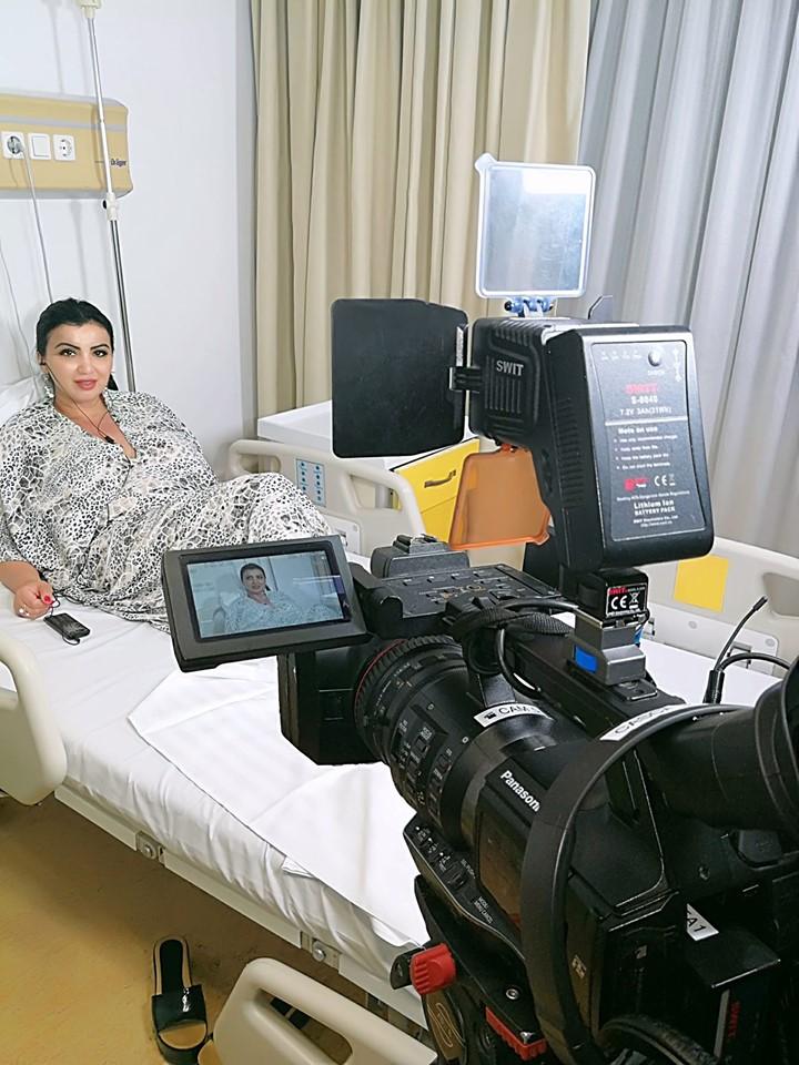 Cum se simte Adriana Bahmuteanu dupa operatie