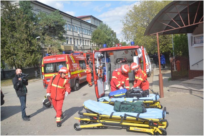 Incendiu la Spitalul Judetean Buzau